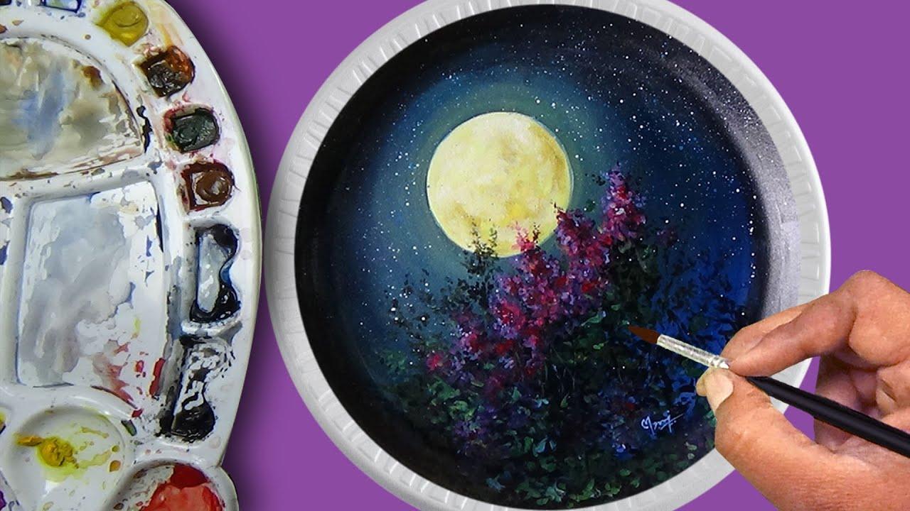 Alexander Zingman : Beautiful Painting on the Plate
